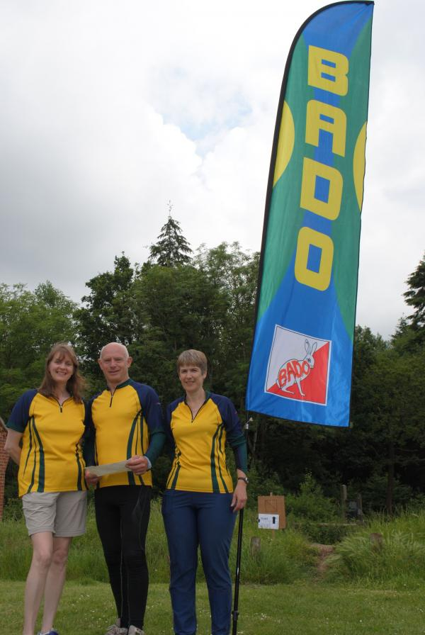 Members of Basingstoke Andover District Orienteering
