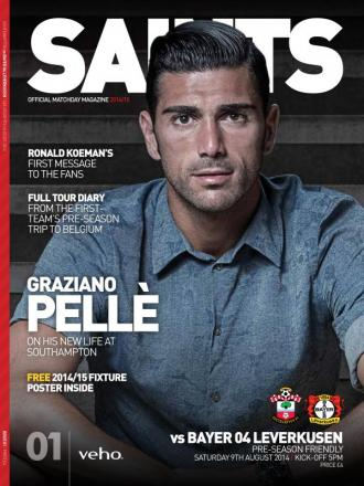 The first new look Saints matchday magazine