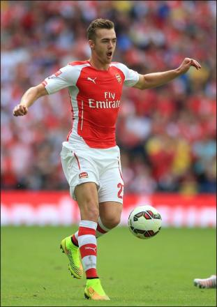 Ex-Saint Calum Chambers a Wembley winner already with new club Arsenal