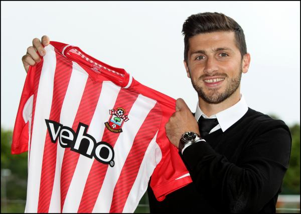 Shane Long. Picture courtest of Southampton FC