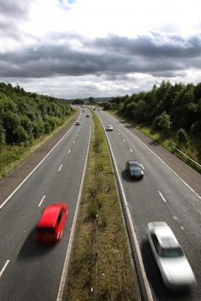 Motorway resurfacing works will see lanes closed overnight