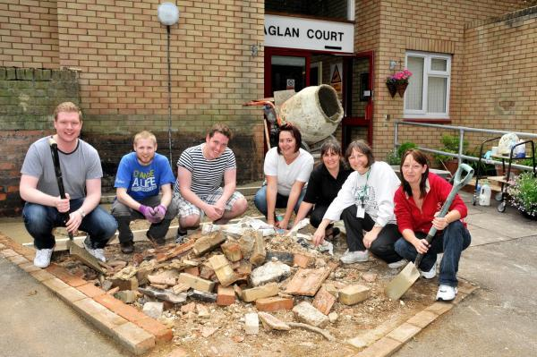 Brighton Hill houses given makeover by Raglan Housing Association