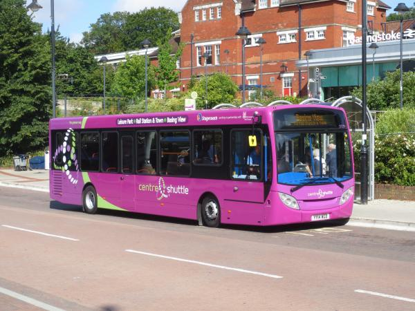 Environmentally friendly buses to be used on Basingstoke route