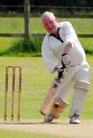 Steve Trinder returned to hit 36 for Priors