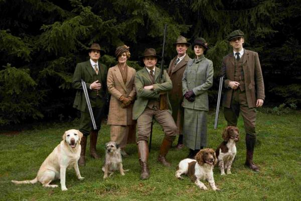 Role models...Downton Abbey cast show off the styles of 1914