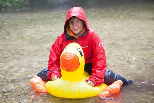 Great weather for ducks