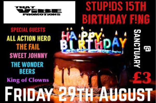Amazing line-up planned for 15th birthday