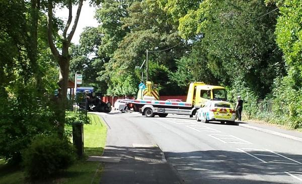 The collision took place near the junction of London Road and Church Lane, Kings Worthy