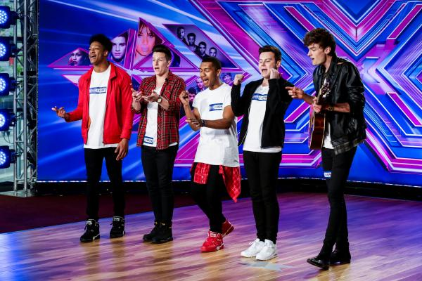 Concept sing for The X Factor judges
