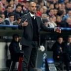 Basingstoke Gazette: Pep Guardiola is keen for Bayern not to emulate Manchester United in missing out on Champions League qualification