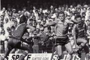 Saints picture archive: Kevin Moore halts Manchester United, August 1987