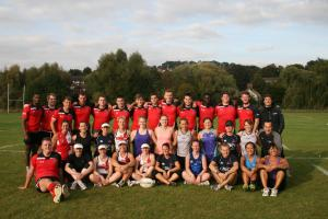 Bucks New University welcomes England rugby side for fitness sessions