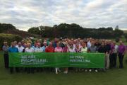 Golfers who took part in Test Valley Golf Club's charity day in aid of Macmillan Cancer Support