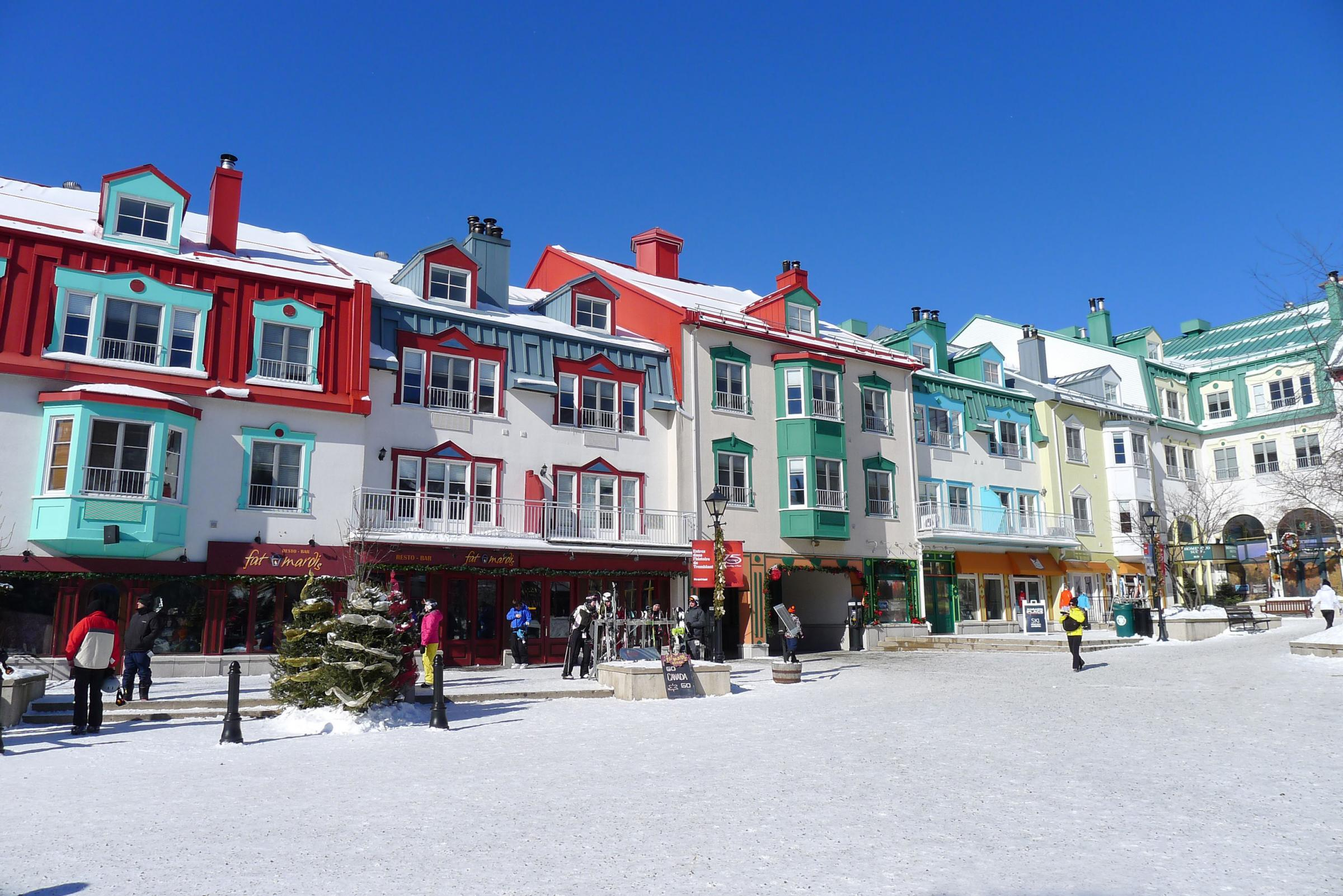 Hannah Stephenson samples ski-ing, spas and shopping in Mont Tremblant