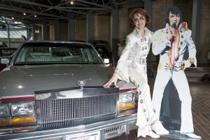 Elvis Presley's 1977 Cadillac Seville now on display at Hampshire's National Motor Museum