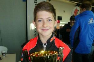 Great season for karting ace Ethan Perry