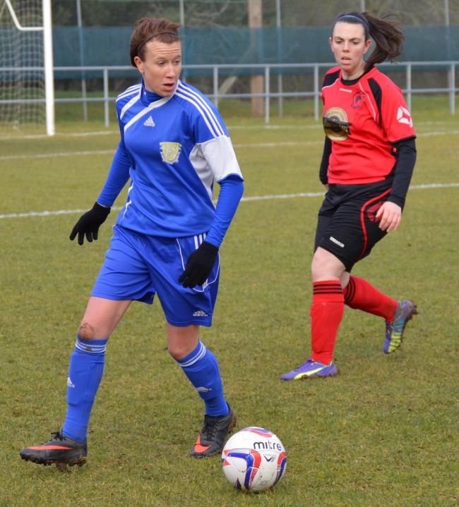 Charlie Fry opened the scoring for Basingstoke Town Ladies