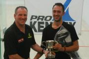 Stuart Summers with event winner Robert Downer