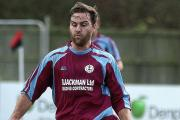 Jack McCarthy was instrumental in Whitchurch's 4-1 win over local rivals Overton