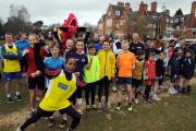Parents, teachers and pupils from Sherfield School took part in a 5km fun run around the school grounds