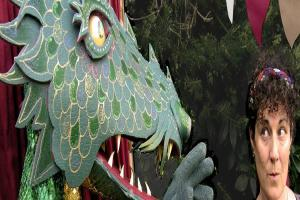 Whimsical reinterpretation of George and the Dragon coming to Basingstoke