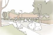 An artist's impression of the expansion to Great Binfields Primary School