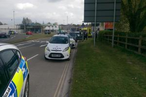 Police attend incident near Sainsbury's