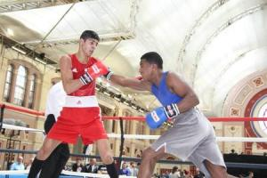 Medal treble for Basingstoke boxers at Alexandra Palace