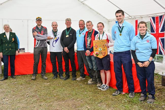 Basingstoke's Steve Burke claims double win at archery event