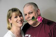 Kate Street and Steve Todd, who are getting married on February 29