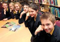 Pupils talk about the new vertical tutoring scheme at Brighton Hill Community College