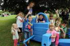 Children enjoying National Play Day at Eastrop Park last year