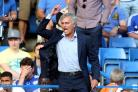 Chelsea manager Jose Mourinho on the touchline