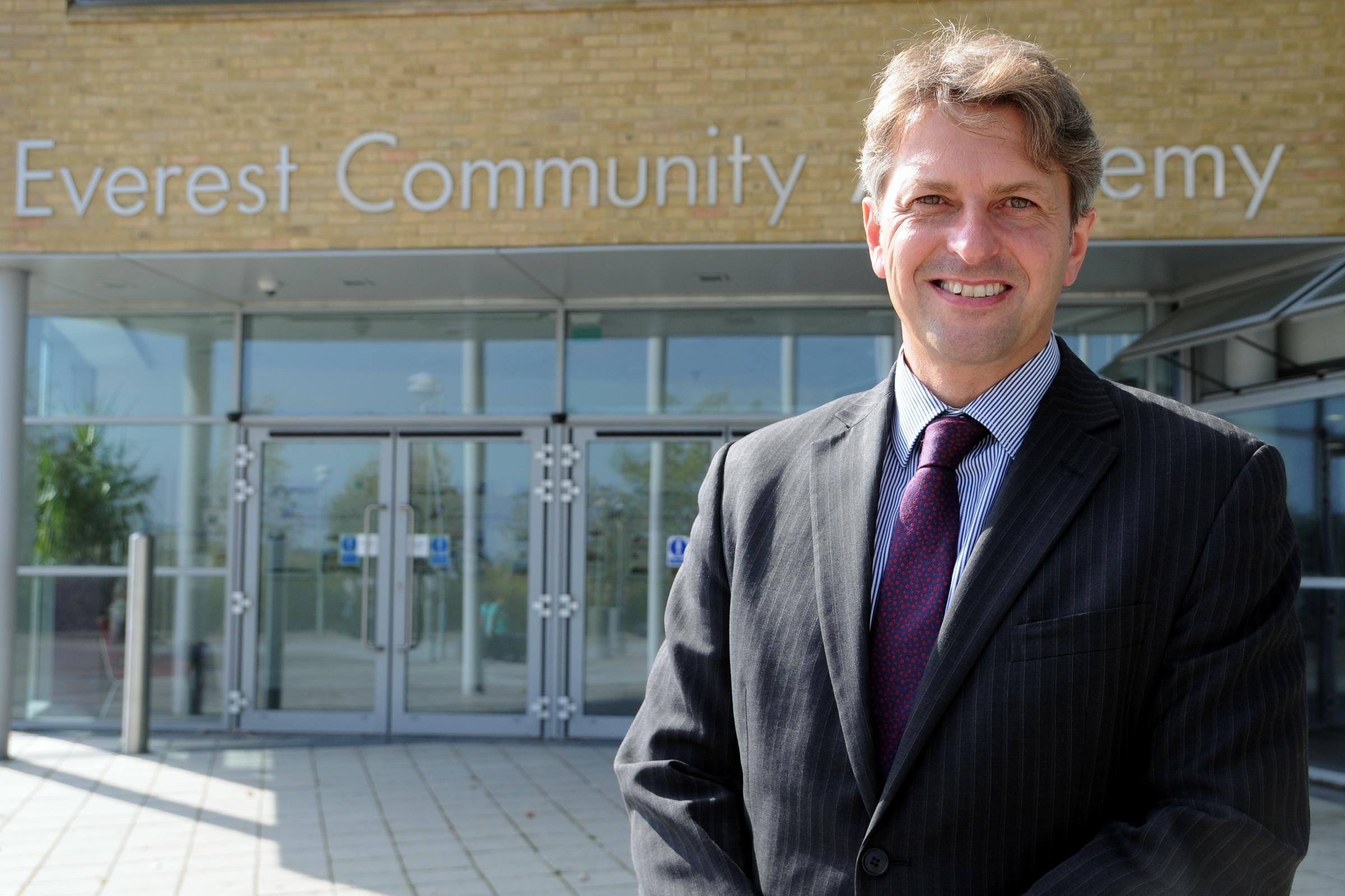 Nick Price, headteacher at Everest Community Academy