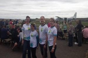 Festival Place employees take to the skies to raise funds for Basingstoke cancer charity