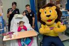 Hampshire stars spread festive cheer
