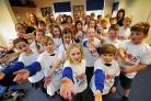 Children join largest school choir in the world at O2