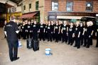 VIDEO: Basingstoke Rock Choir take part in mystery singing tour of the town
