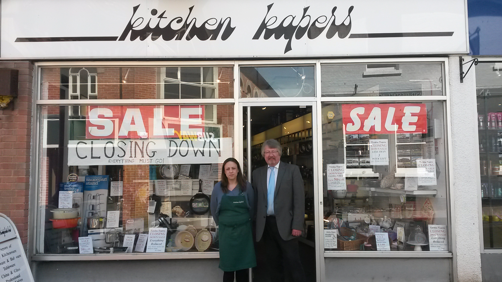 Kitchen Kapers Set To Shut Up Shop This Weekend