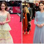 Basingstoke Gazette: Emilia Clarke and Jenna Coleman turn on the glamour for the London premiere of Me Before You