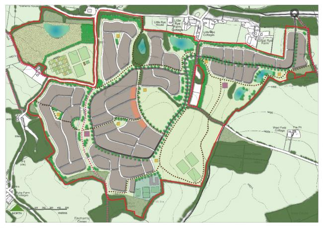 New village plans under scrutiny