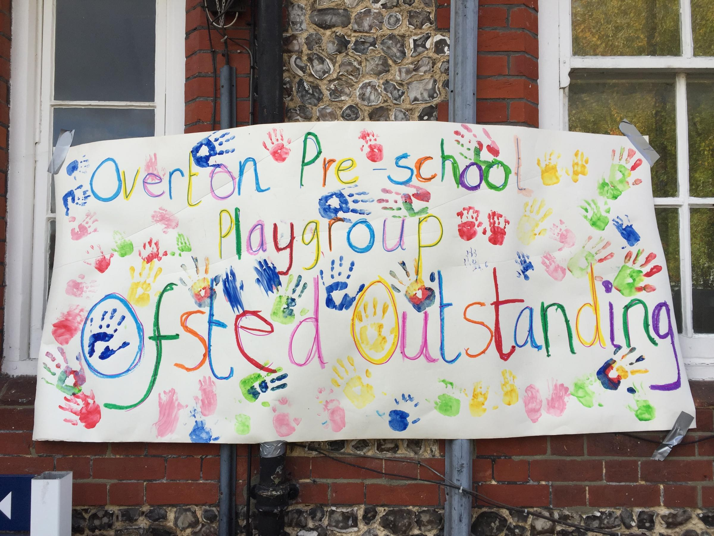 Playgroup's delight at top Ofsted rating