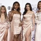 Basingstoke Gazette: Fifth Harmony perform as a four-piece for the first time at People's Choice Awards