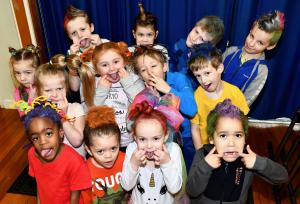 Basingstoke Gazette: See some of the wacky hair styles on display during Mad Hair Day