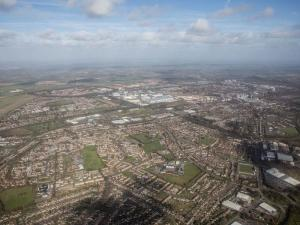Basingstoke Gazette: Basingstoke from the sky - can you see your house?