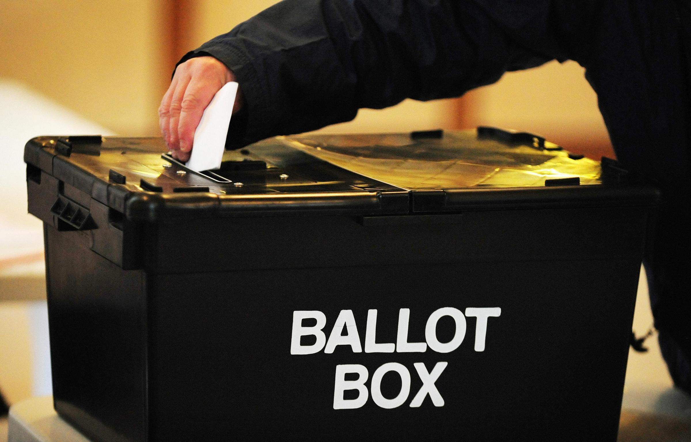 Candidates for borough council by-election announced