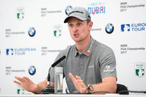 Justin Rose a long way off the lead as final day starts
