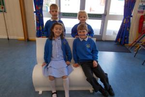 Pupils get artistic in Sitting with Jane project
