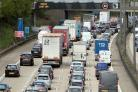 Bank holiday drivers are facing congested roads