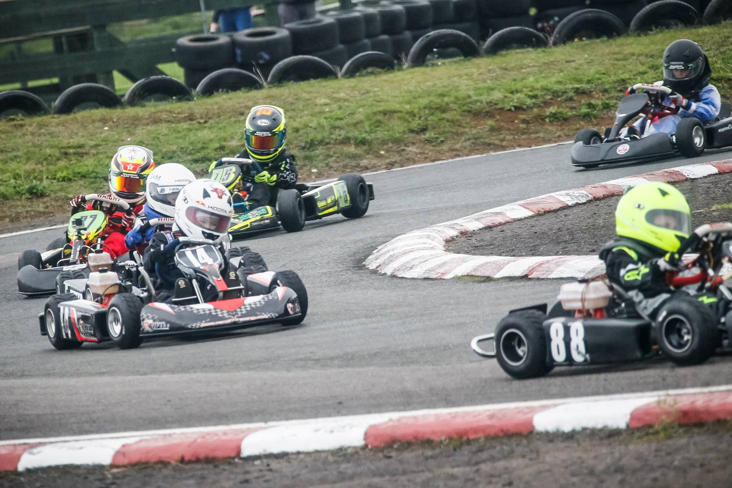 Go-karting Ralphie's weekend of success